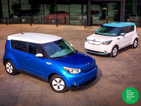 Kia cuenta con modelos verdes como el Soul EV y los híbrido Optima y Cadenza