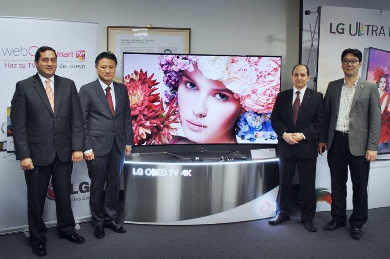 Para esta campaña navideña la tecnología ULTRA HD 4K de LG estará presente en su nueva línea de televisores, que ofrece la más increíble experiencia visual existente.