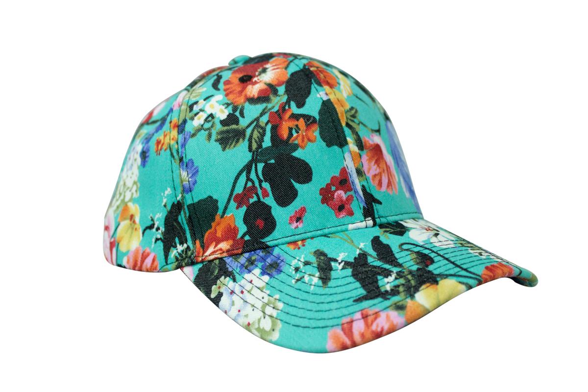 gorra de flores de GLITTER 24