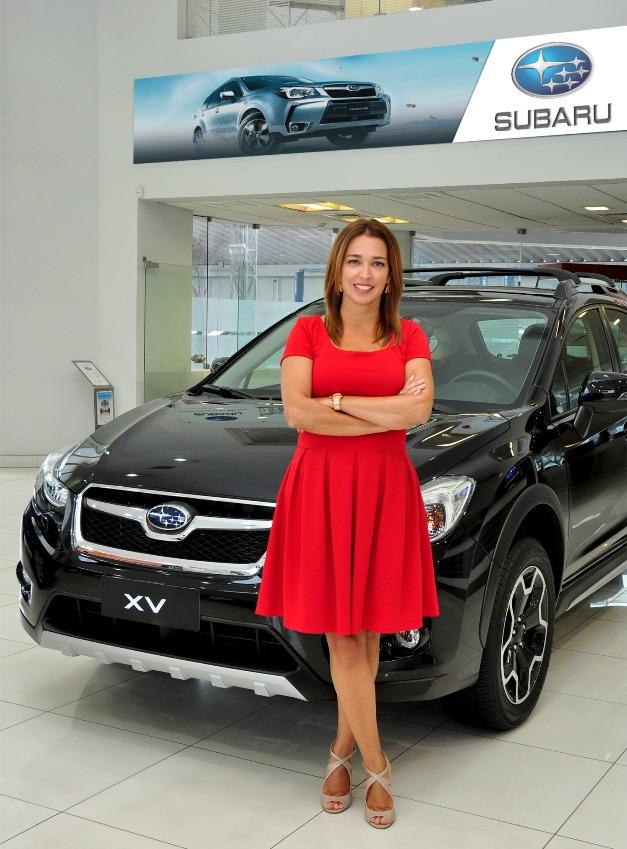 Giuliana Robles gerente de marketing de Subaru