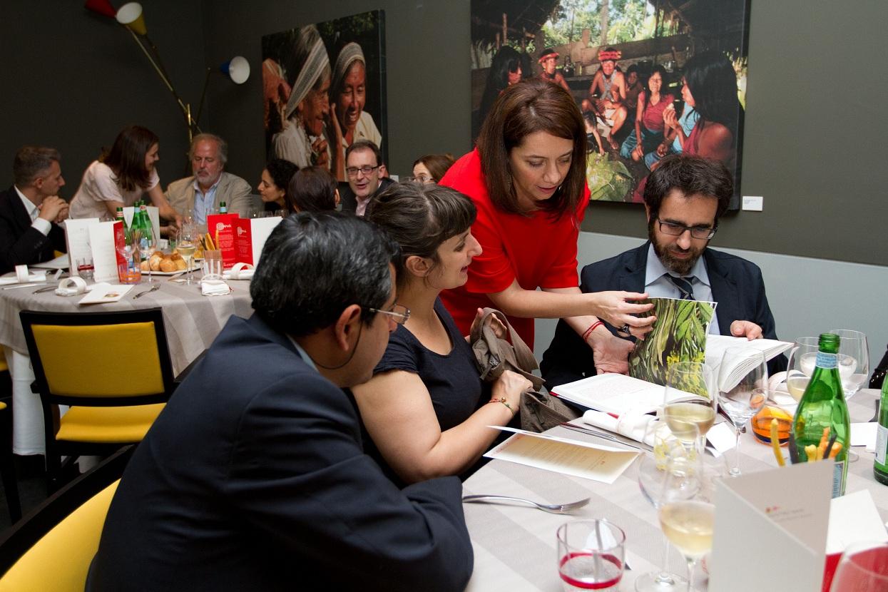 Promoción de productos peruanos en Milán