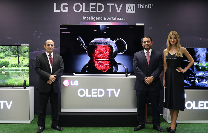 LG PRESENTA SU NUEVA LÍNEA DE TV CON INTELIGENCIA  ARTIFICIAL Y LENGUAJE NATURAL