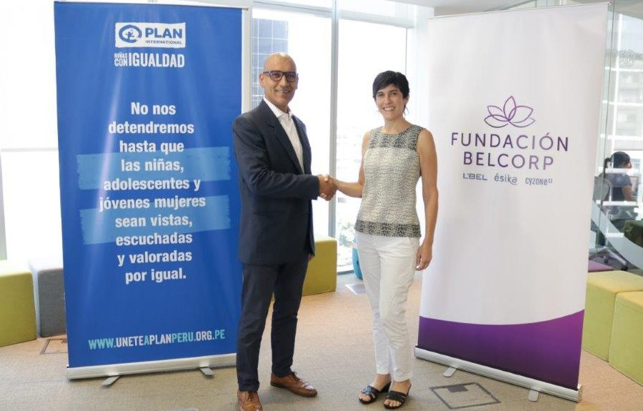 FUNDACIÓN BELCORP ENTREGARÁ FONDO DE MÁS DE S/ 500.000 A PLAN INTERNACIONAL