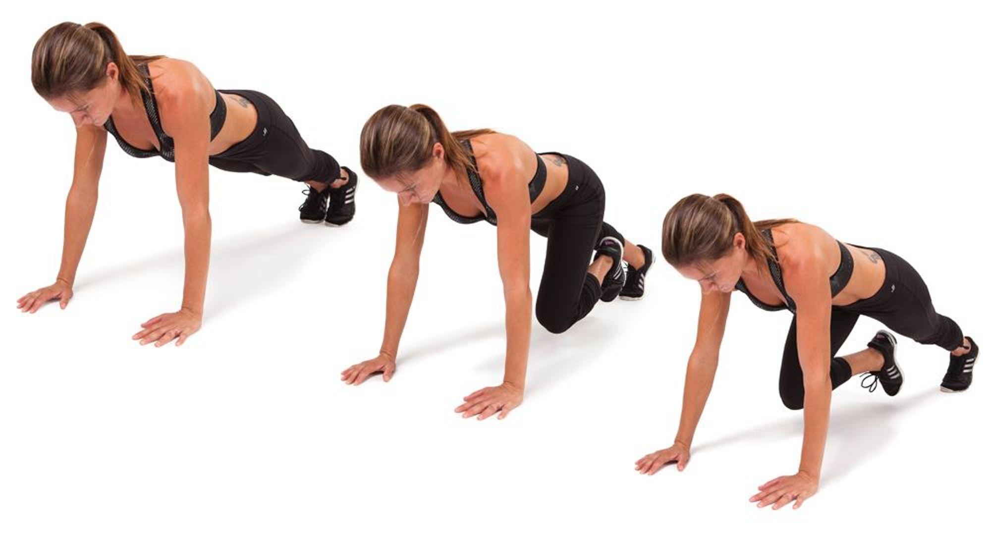 Resultat d'imatges de Escaladores ejercicio