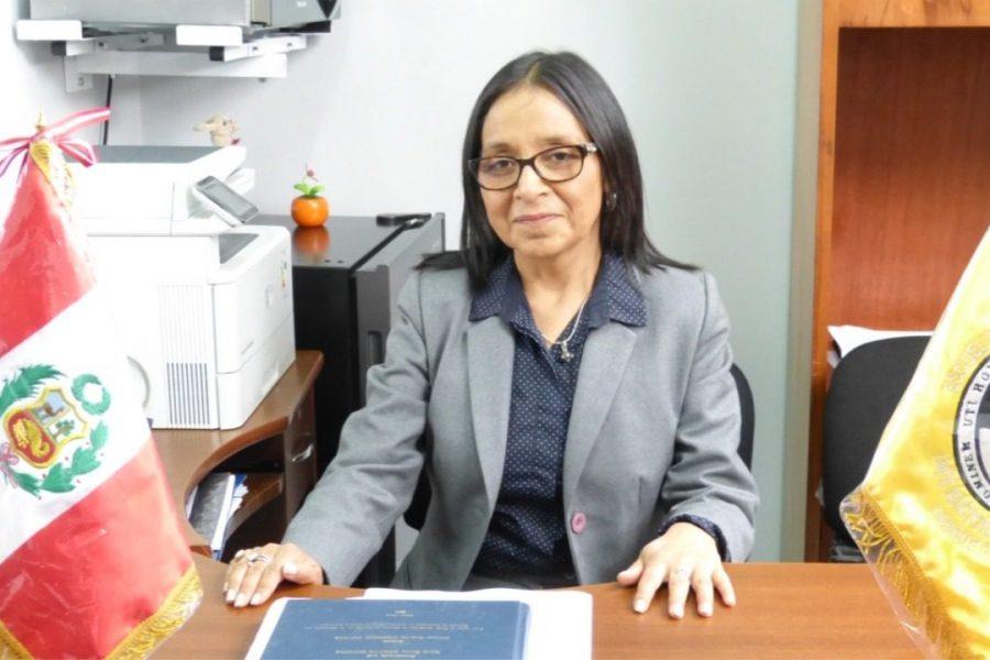 DRA. LIDA ASENCIOS:NUEVA RECTORA DE LA UNIVERSIDAD NACIONAL GUZMÁN Y VALLE